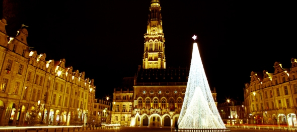 Arras / France at Christmas